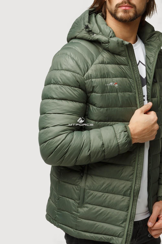 Купить оптом Куртка мужская стеганная цвета хаки 1852Kh