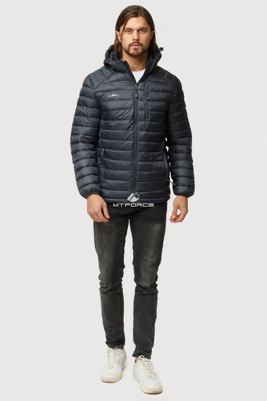 Купить оптом Куртка мужская стеганная черного цвета 1852Ch