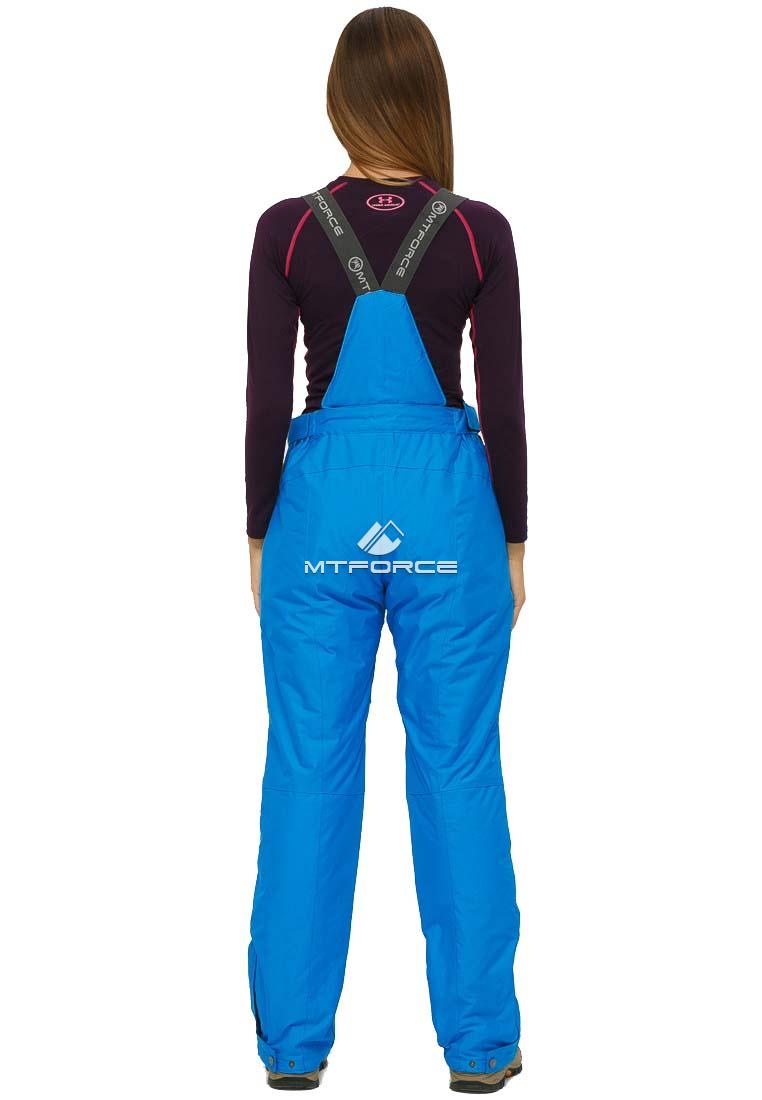 Купить оптом Брюки горнолыжные женские большого размера голубого цвета 1878Gl в Волгоградке