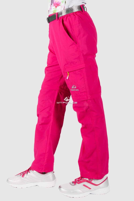 Купить оптом Брюки спортивные подростковые для девочки розового цвета 18094R в Нижнем Новгороде