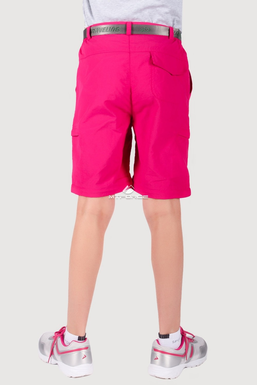 Купить оптом Брюки спортивные подростковые для девочки розового цвета 18094R в Воронеже
