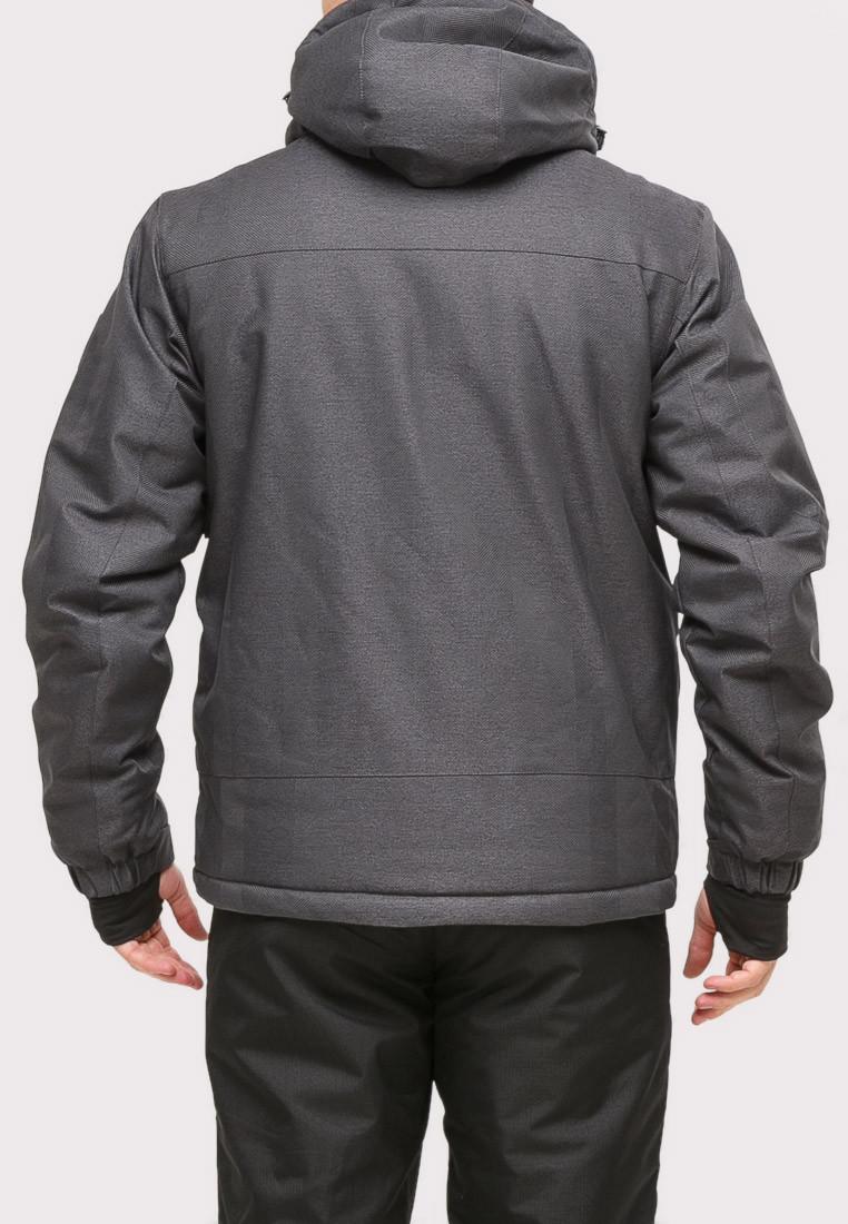 Купить оптом Костюм горнолыжный мужской темно-серого цвета 01901TC в Воронеже