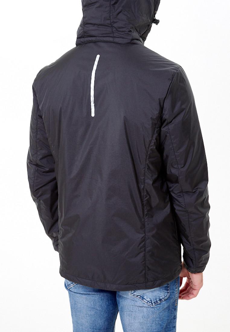Купить оптом Молодежная куртка мужская черного цвета 1913Ch в Самаре
