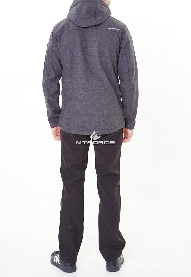 Купить оптом Костюм мужской softshell серого цвета 01920-1Sr в  Красноярске