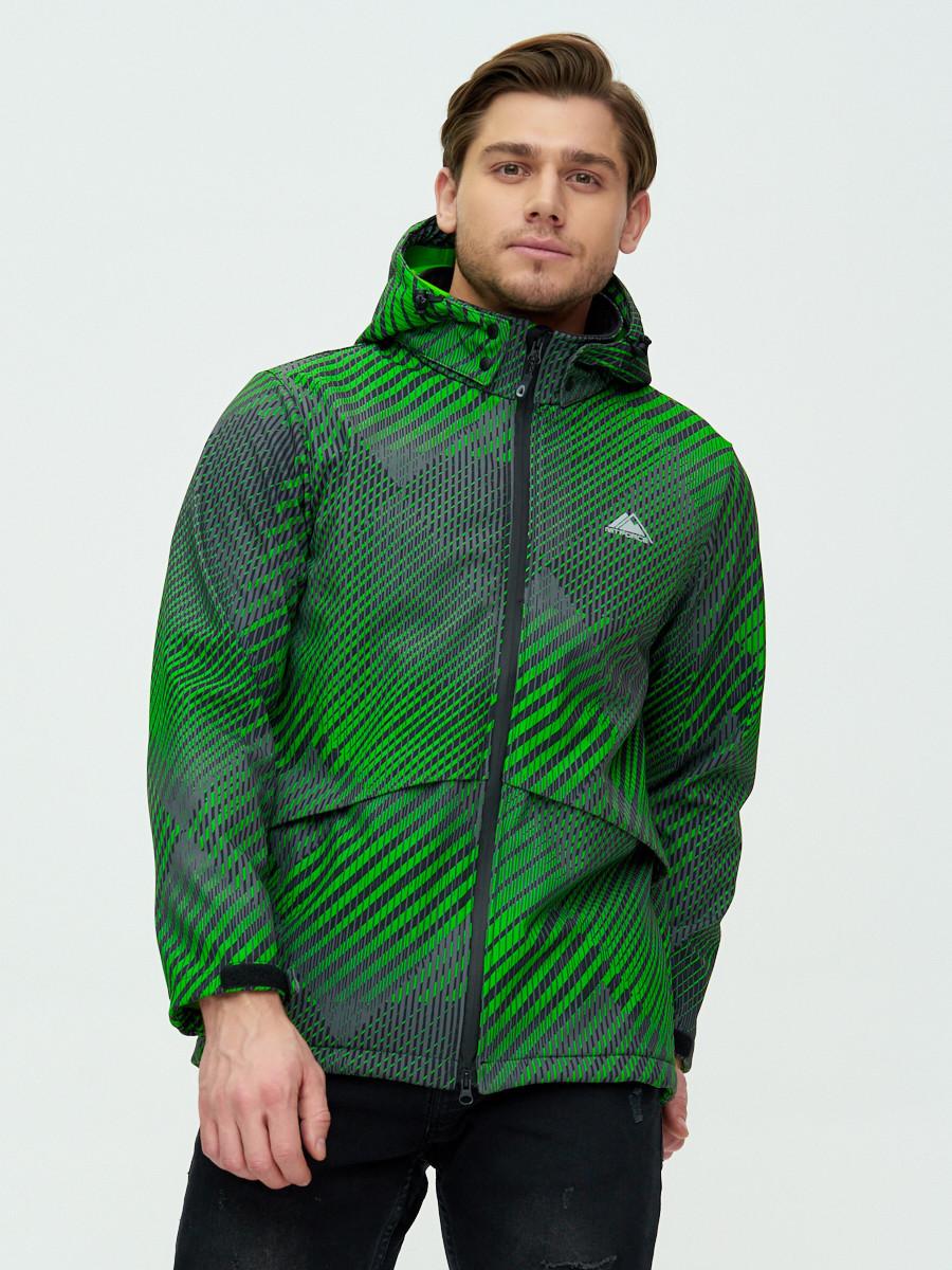 Купить оптом Ветровка подростковая MTFORCE зеленого цвета 2102Z в Екатеринбурге