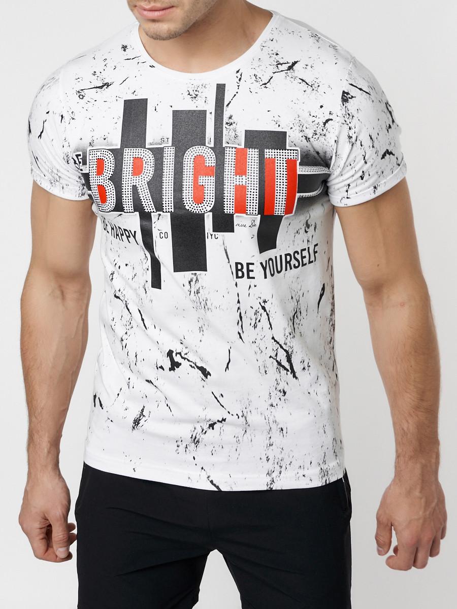 Подростковая футболка белого цвета 220146Bl