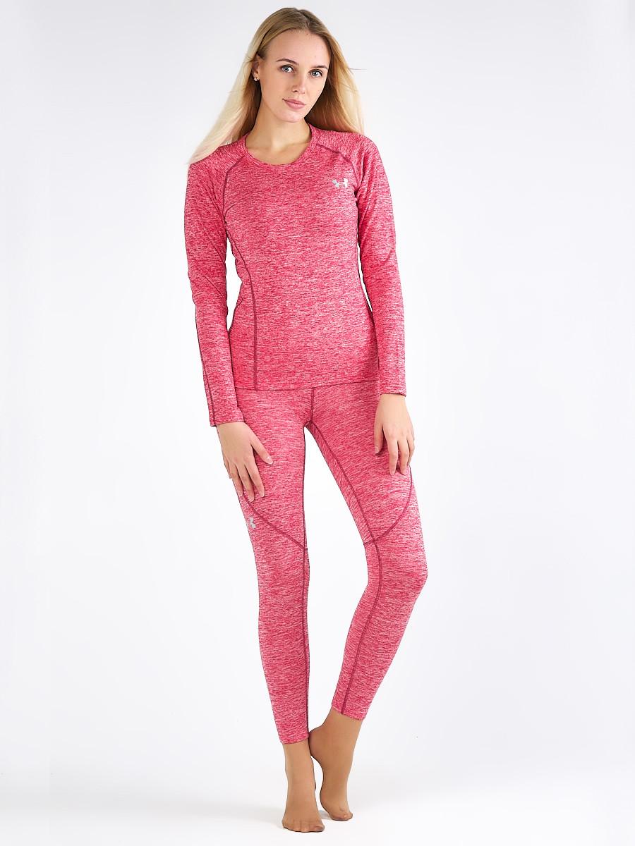 Купить оптом Термобелье женское розового цвета 2298R в Перми