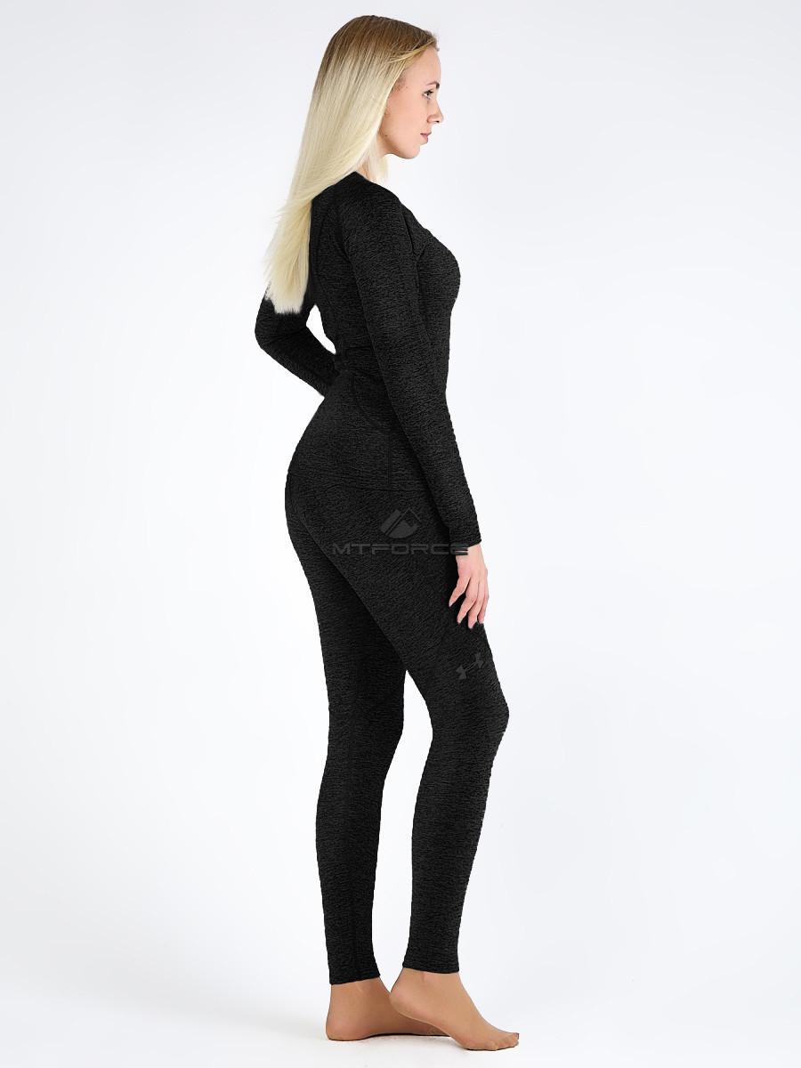 Купить оптом Термобелье женское черного цвета 2298Ch