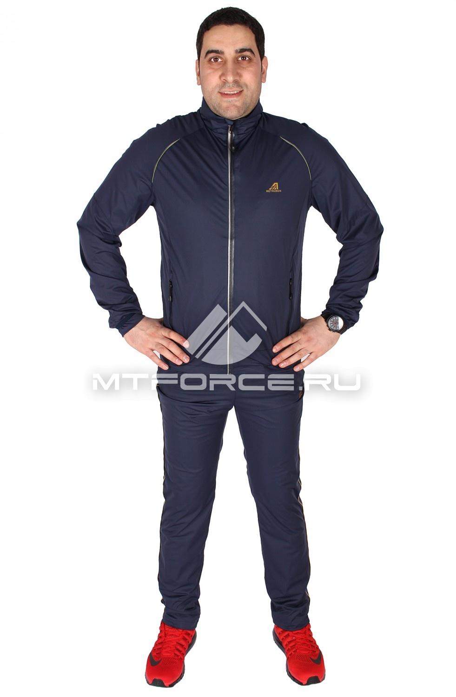 Купить оптом Спортивный костюм мужской темно-серого цвета 23157TC