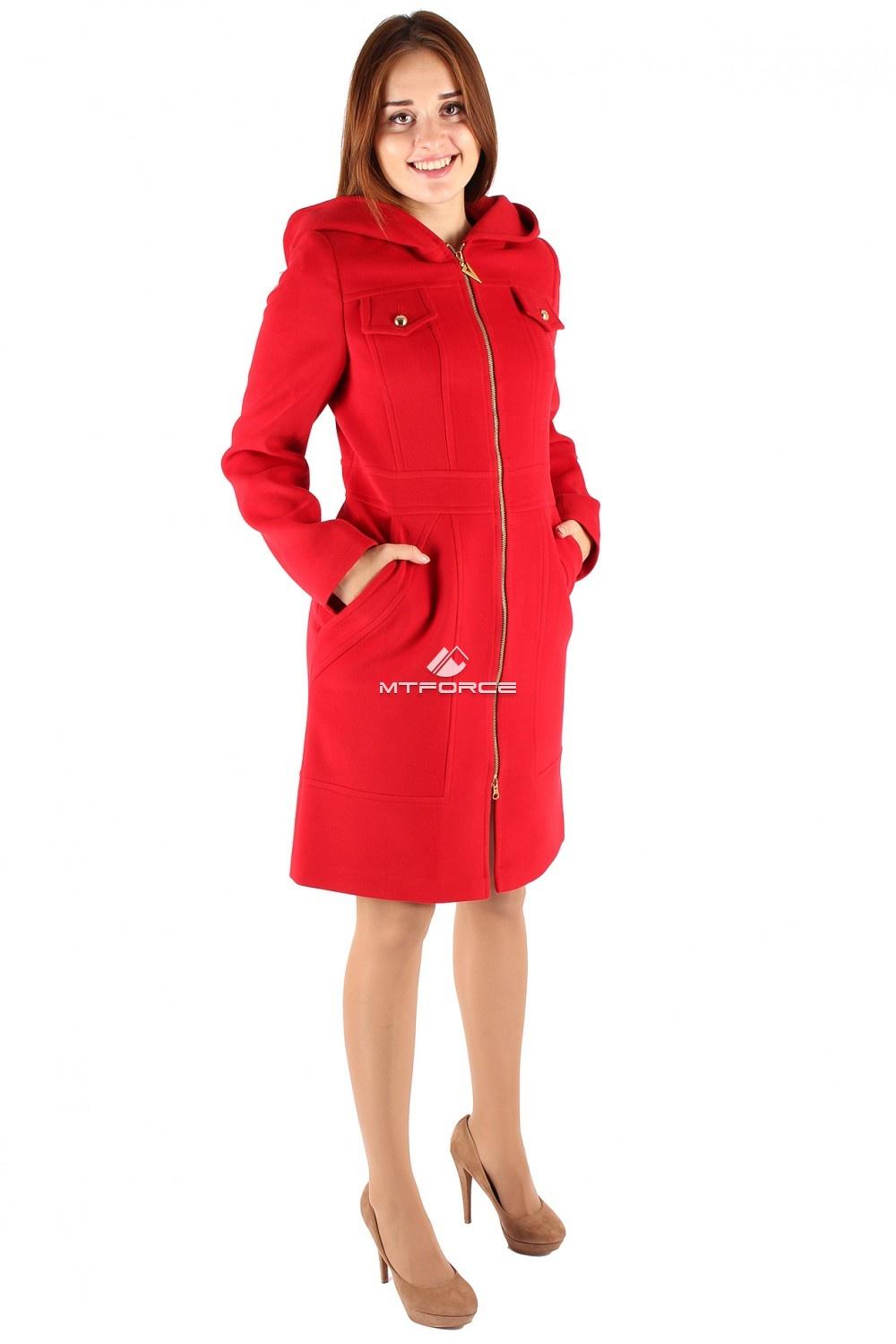 Купить  оптом Пальто женское красного цвета 270Kr
