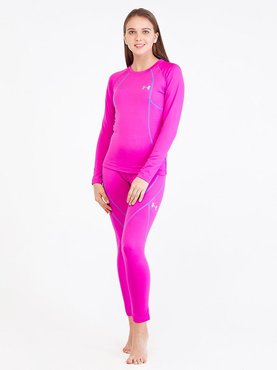 Купить оптом Термобелье женское розового цвета 3114R в Нижнем Новгороде