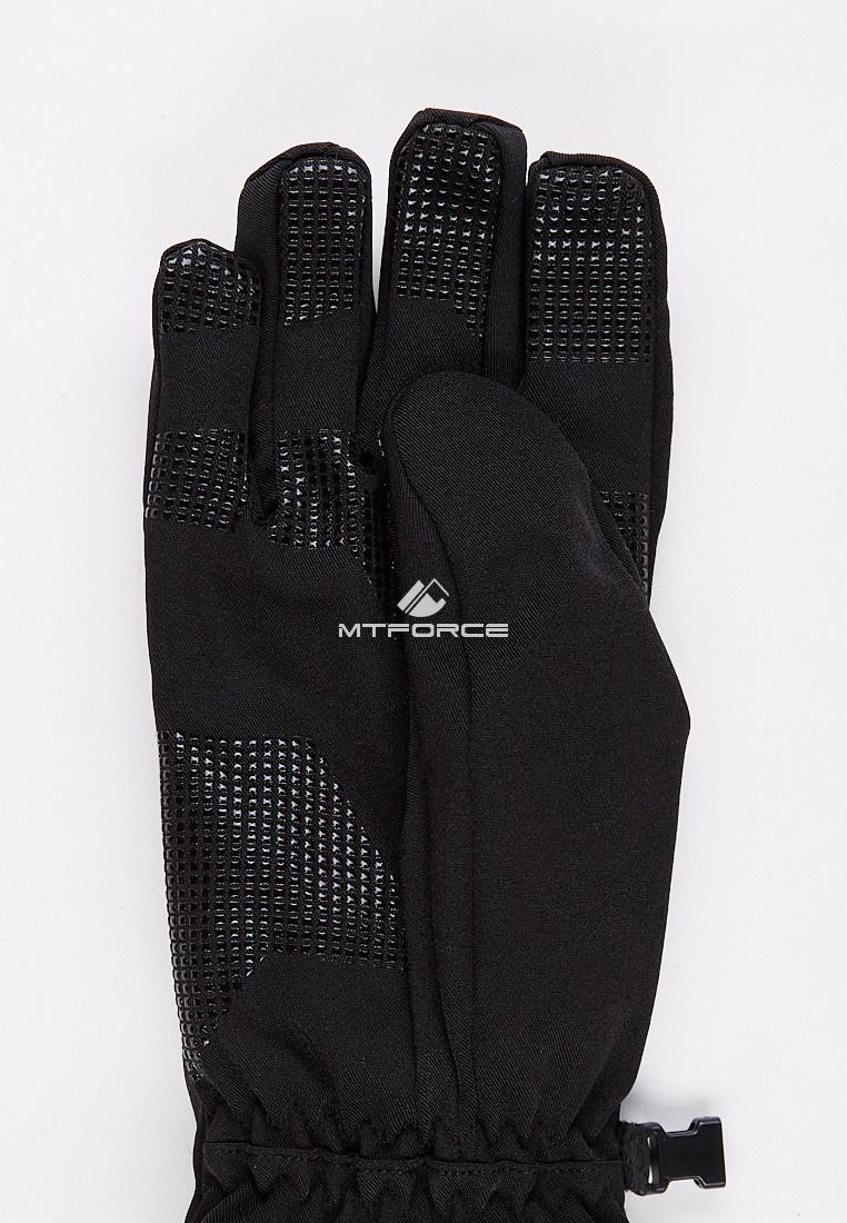 Купить оптом Перчатки мужские для активного отдыха черного цвета 3131Ch в Самаре