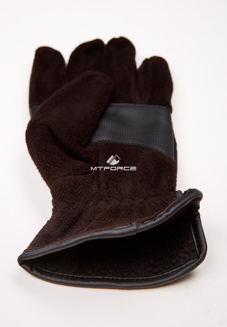 Купить оптом Перчатки мужские для активного отдыха черного цвета 321Ch