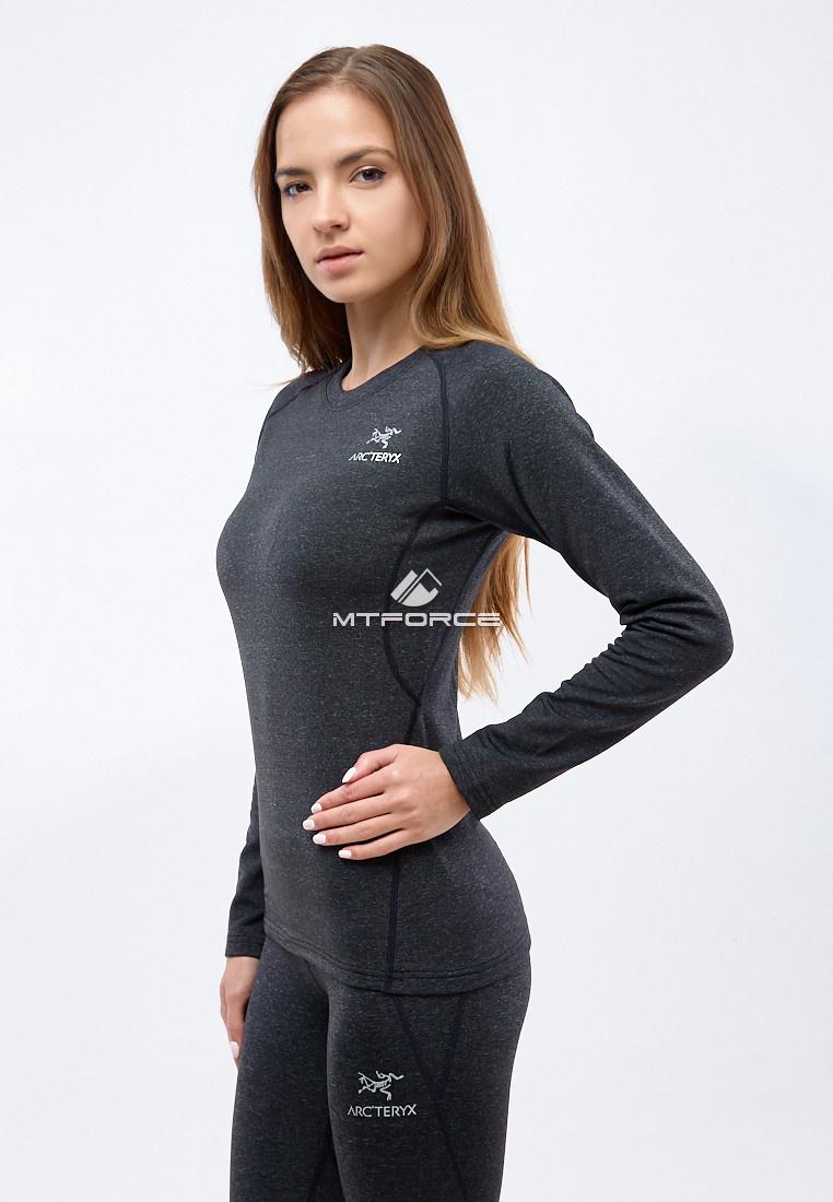 Купить оптом Термобелье женское темно-серого цвета 3478TC