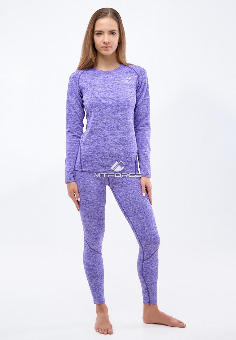 Купить оптом Термобелье женское фиолетового цвета 3478F