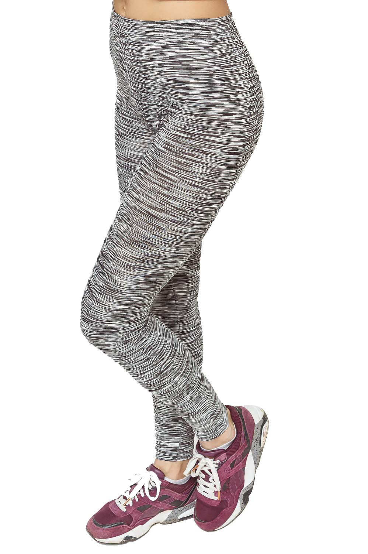 Купить оптом Брюки легинсы женские серого цвета 3481Sr в Новосибирске