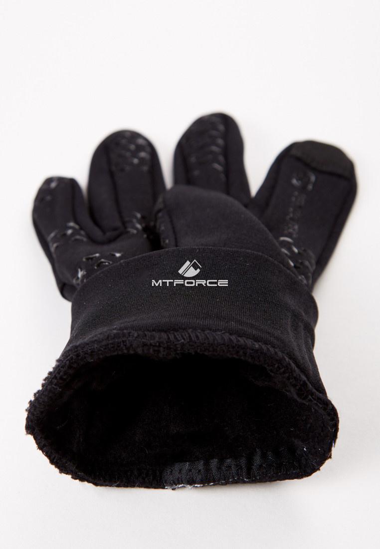 Купить оптом Перчатки женские для активного отдыха черного цвета 366Ch