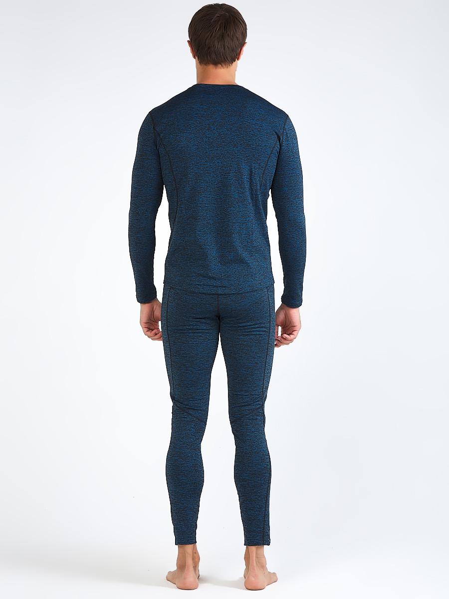 Купить оптом Термобелье мужское темно-синего цвета 3795TS