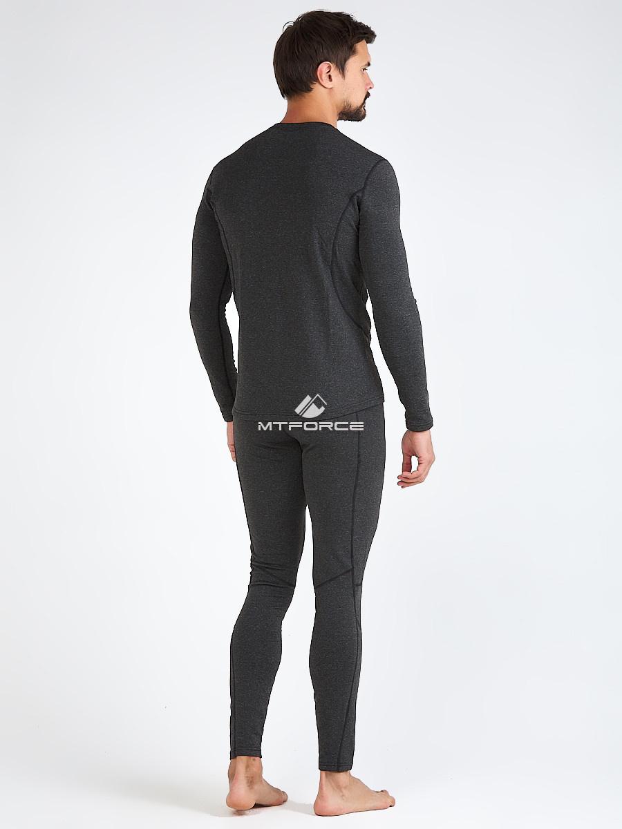 Купить оптом Термобелье мужское темно-серого цвета 3795TС