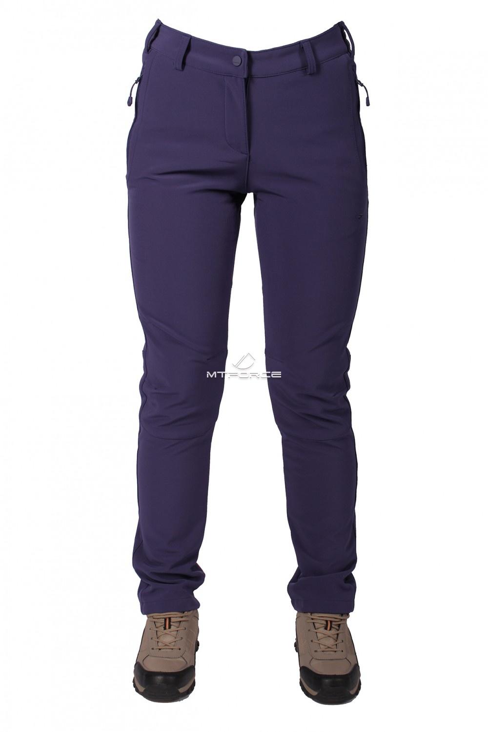 Купить оптом Брюки виндстопер женские фиолетового цвета  3820F в Новосибирске