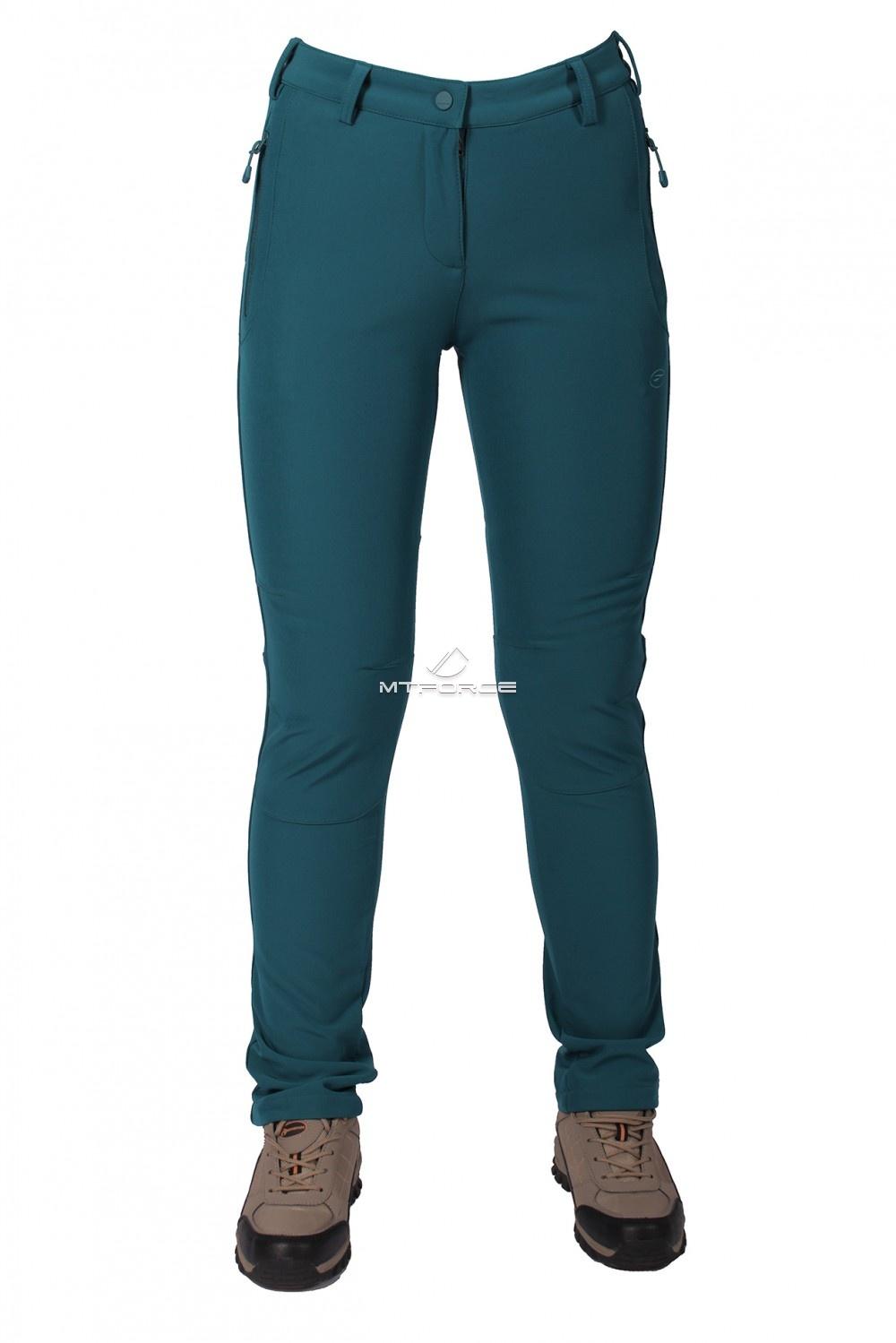 Купить  оптом Брюки виндстопер женские зеленого цвета  3820Z