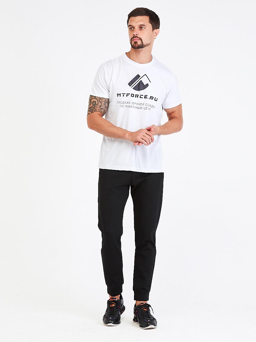 Купить оптом Брюки мужские молодежные черного цвета 3902Ch в Перми
