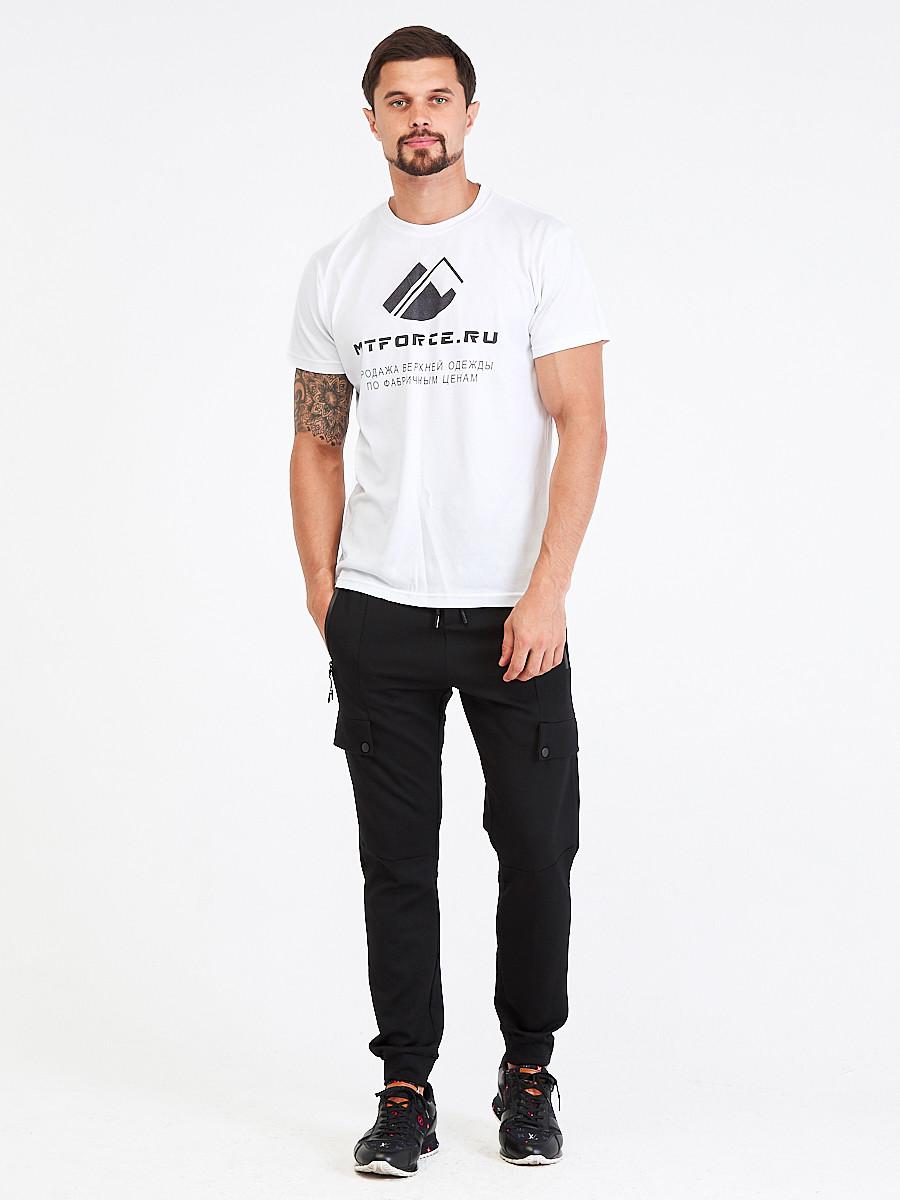 Купить оптом Брюки мужские молодежные черного цвета 3904Ch в Екатеринбурге