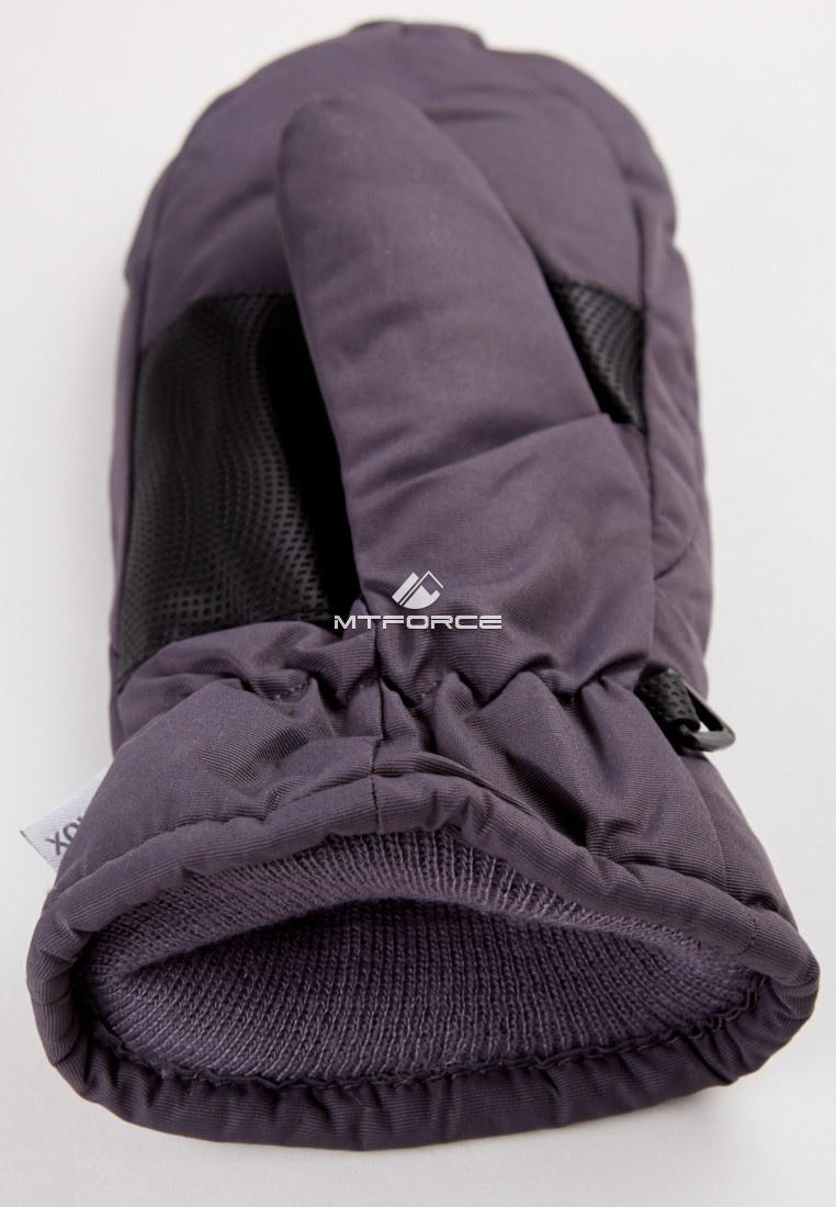 Купить оптом Рукавицы зимние подростковые темно-серого 399TС