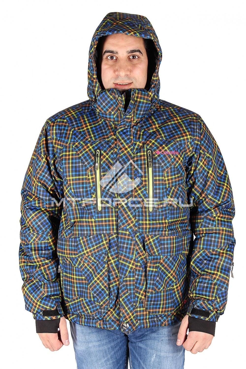 Купить                                  оптом Куртка спортивная зимняя мужская оранжевого цвета 4008J