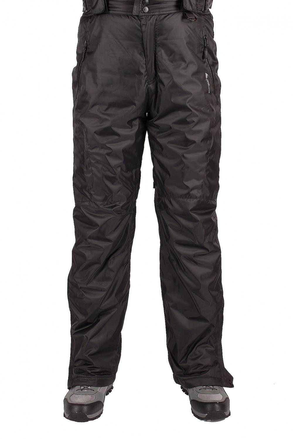 Купить оптом Брюки горнолыжные мужские черного цвета 402Ch