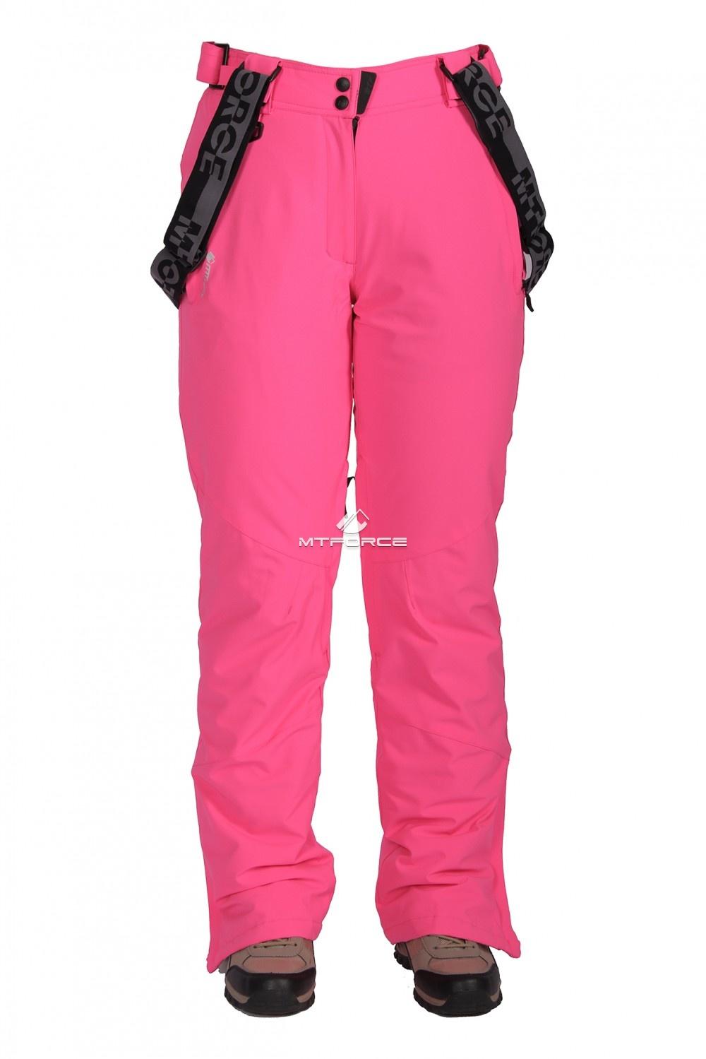 Купить                                  оптом Брюки горнолыжные женские розового цвета 403-1R