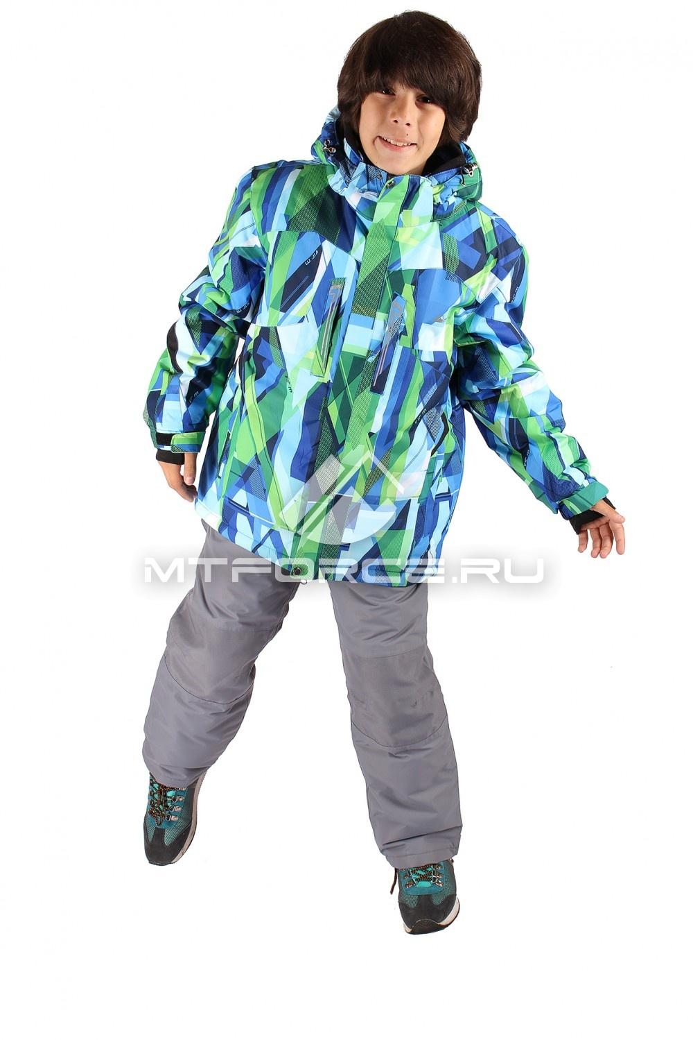 Купить                                  оптом Костюм горнолыжный  для мальчика салатового цвета 424Sl
