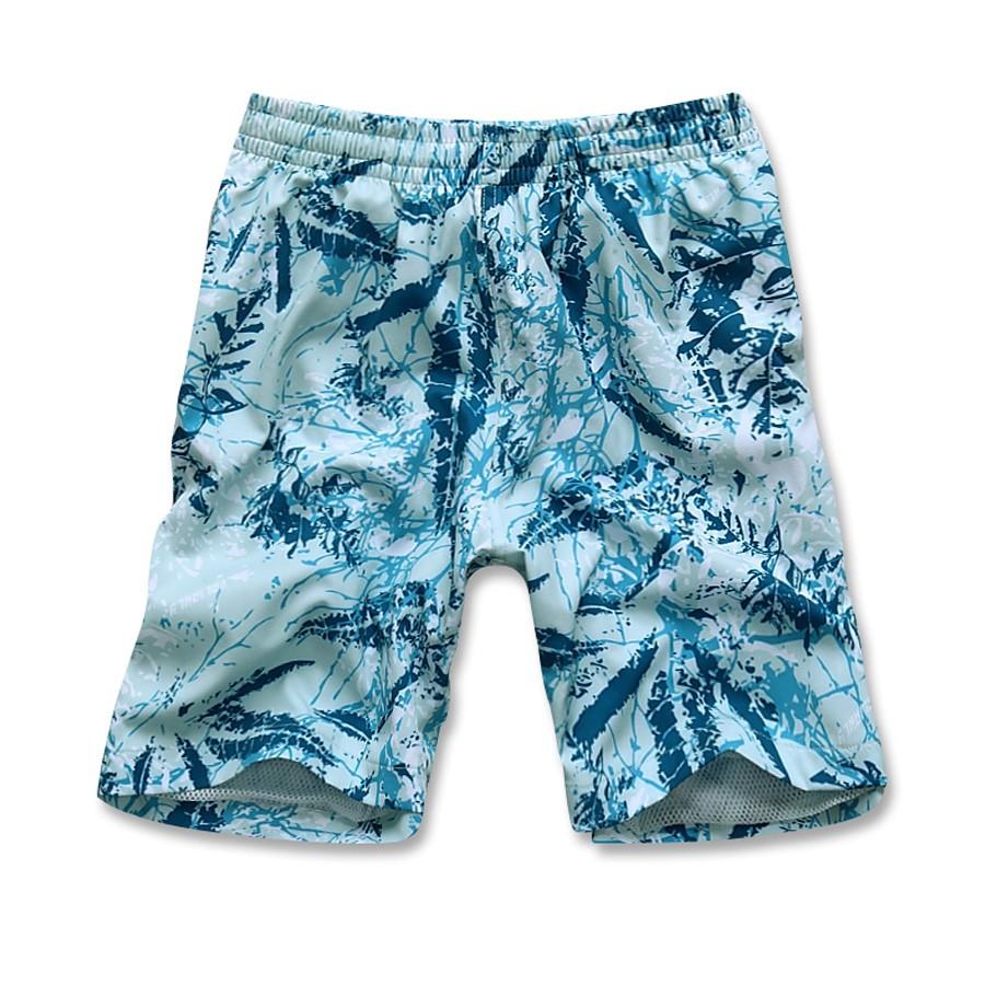 Купить оптом Спортивные шорты голубого цвета 4272Gl в Уфе
