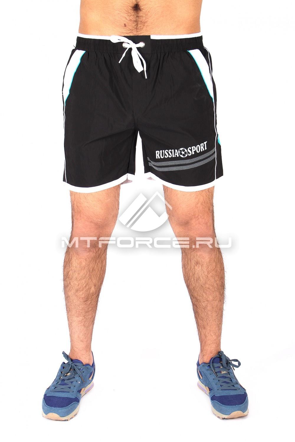 Купить оптом Спортивные шорты черного цвета 503Ch
