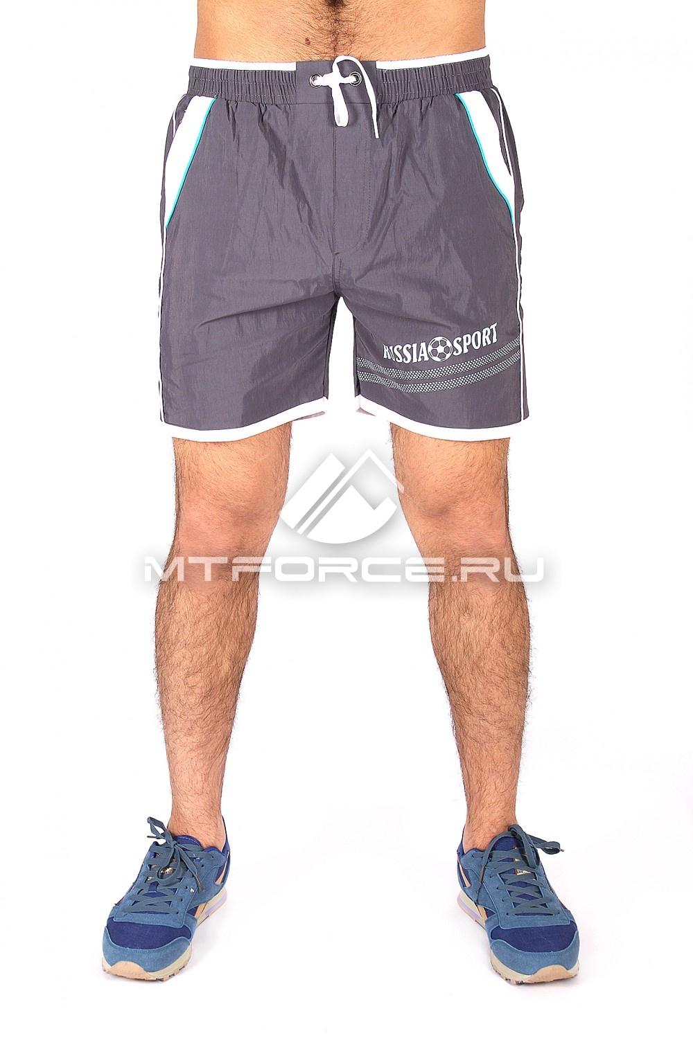 Купить                                  оптом Спортивные шорты серого цвета 503Sr