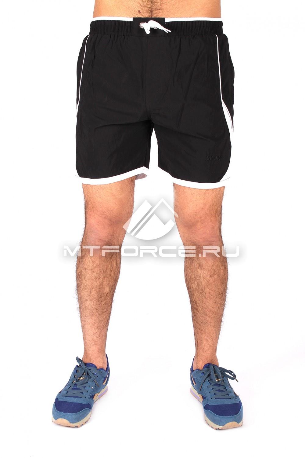Купить                                  оптом Спортивные шорты черного цвета 512Ch