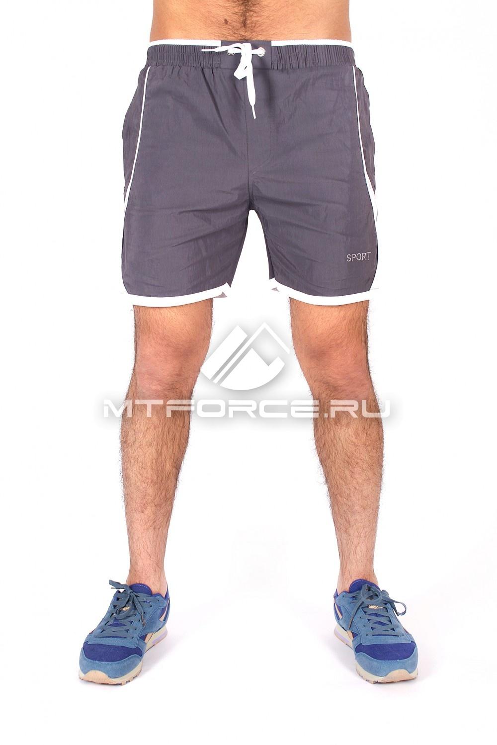 Купить                                  оптом Спортивные шорты серого цвета 512Sr в Новосибирске