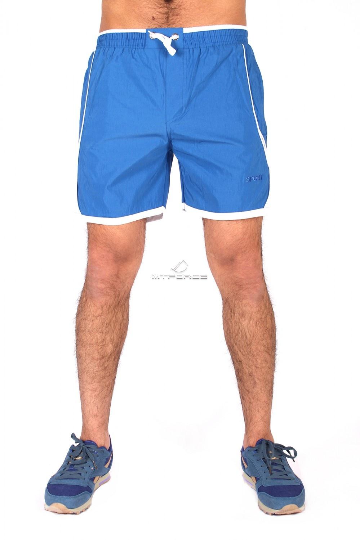 Купить                                  оптом Спортивные шорты синего цвета 512S