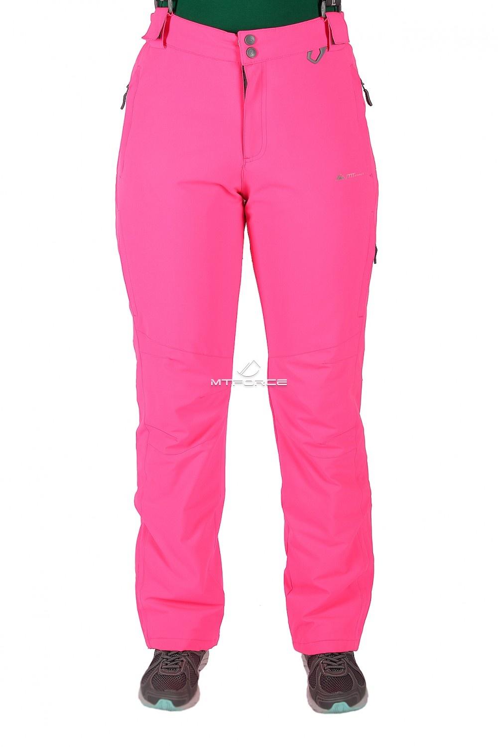 Купить                                  оптом Брюки горнолыжные женские розового цвета 524R-2