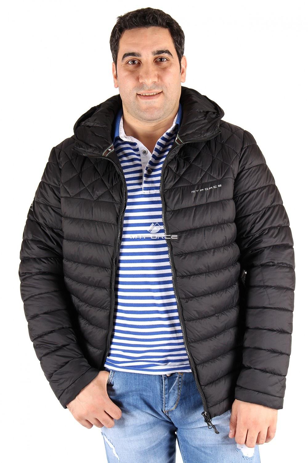 Купить                                  оптом Куртка мужская черного цвета 1618Ch в Новосибирске
