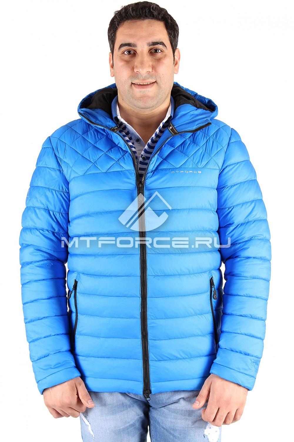 Купить                                  оптом Куртка мужская синего цвета 1618S