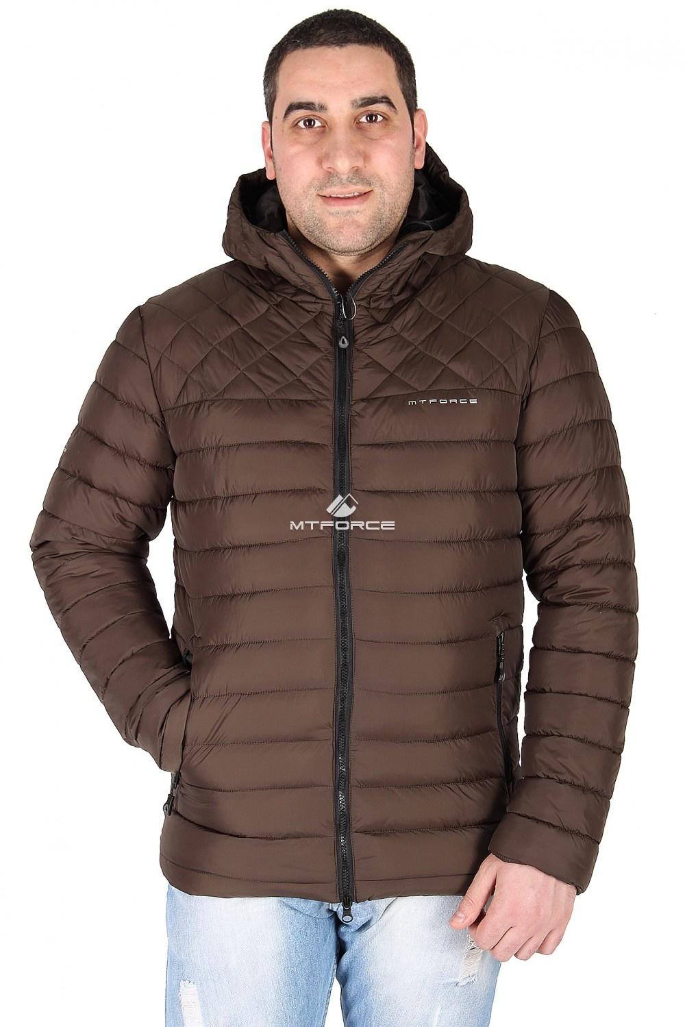 Купить оптом Куртка мужская болотного цвета 1618Bt в Санкт-Петербурге
