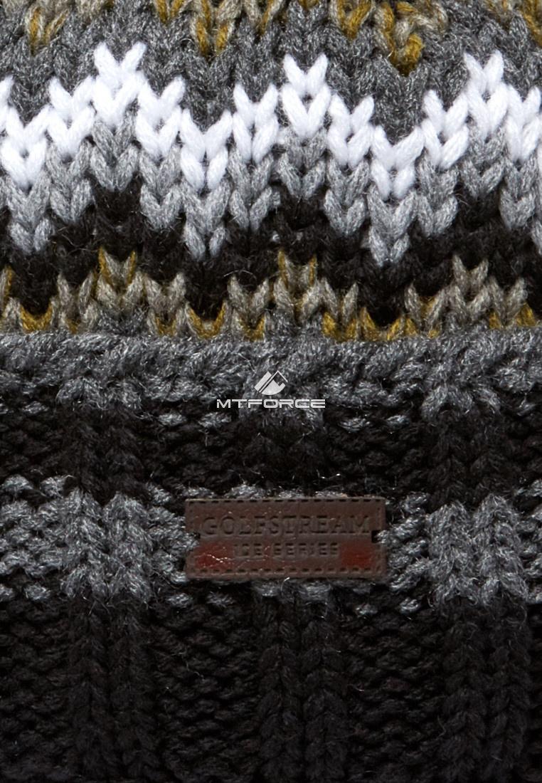 Купить оптом Шапка зимняя серого цвета 5543Sr