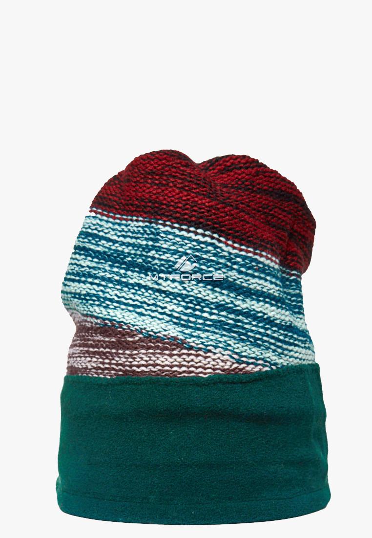 Купить оптом Шапка зимняя бордового цвета 5590Bo