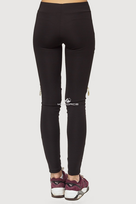 Купить оптом Брюки легинсы женские серого цвета 056Sr в Уфе