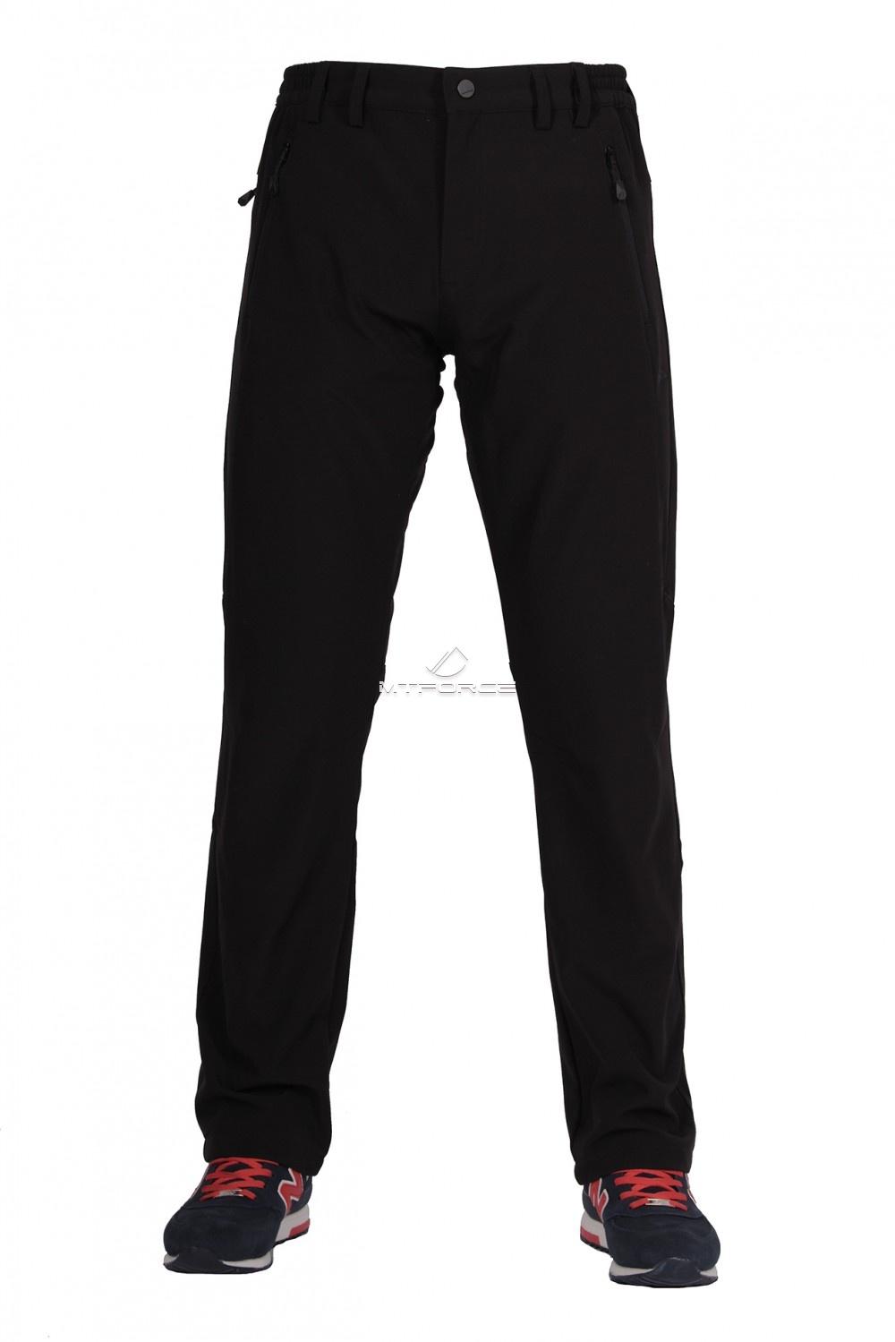 Купить                                      оптом Брюки виндстопер мужские черного цвета  6616Ch в  Красноярске