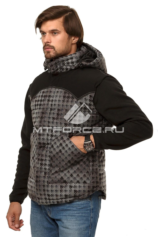 Купить оптом Куртка мужская три в одном темно-зеленого цвета 1201TZ