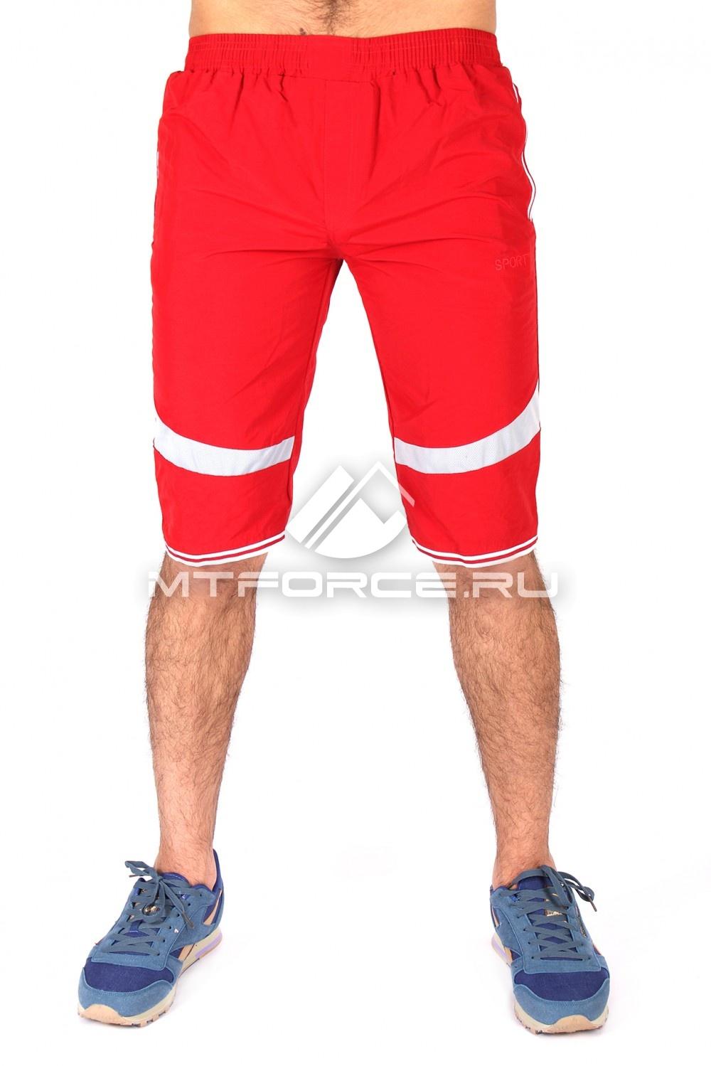 Купить оптом Спортивные шорты красного цвета 717Kr