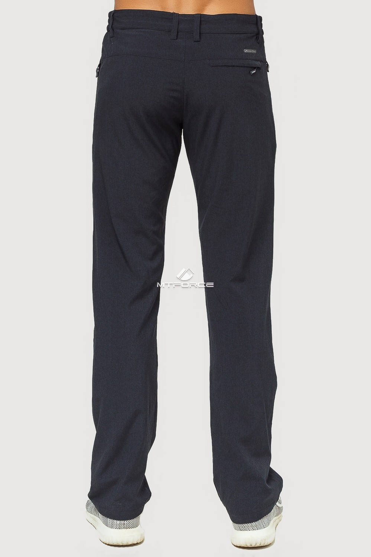 Купить оптом Брюки спортивные мужские темно-синего цвета 7809TS в Воронеже