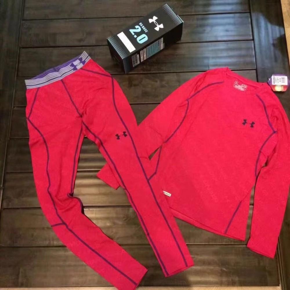 Купить оптом Термобелье женское розового цвета 8010R в Перми